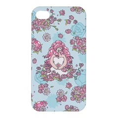 Space Roses Apple iPhone 4/4S Hardshell Case