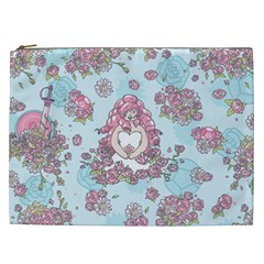 Space Roses Cosmetic Bag (XXL)