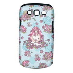 Space Roses Samsung Galaxy S III Classic Hardshell Case (PC+Silicone)