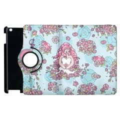 Space Roses Apple iPad 2 Flip 360 Case