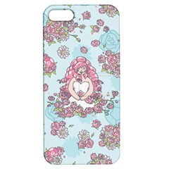 Space Roses Apple iPhone 5 Hardshell Case with Stand