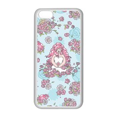 Space Roses Apple iPhone 5C Seamless Case (White)