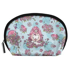 Space Roses Accessory Pouches (Large)