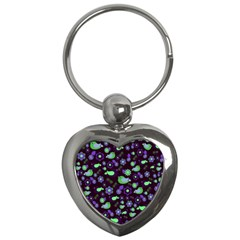 Spring night Key Chains (Heart)