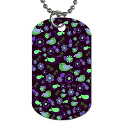 Spring night Dog Tag (One Side)