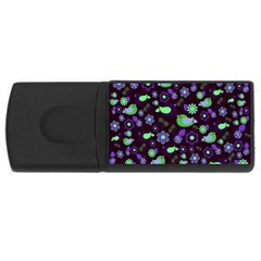 Spring night USB Flash Drive Rectangular (1 GB)