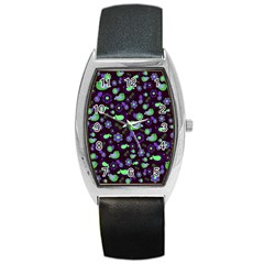Spring night Barrel Style Metal Watch