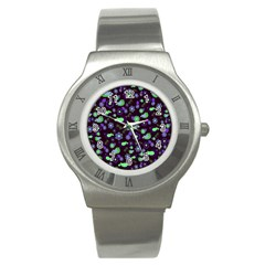 Spring night Stainless Steel Watch