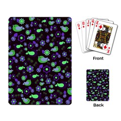 Spring night Playing Card