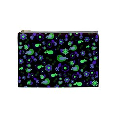 Spring night Cosmetic Bag (Medium)