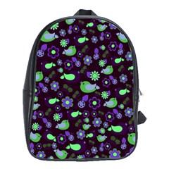 Spring night School Bags(Large)