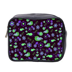 Spring night Mini Toiletries Bag 2-Side