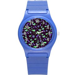 Spring night Round Plastic Sport Watch (S)