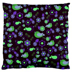 Spring night Large Cushion Case (Two Sides)