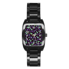 Spring night Stainless Steel Barrel Watch