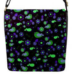 Spring night Flap Messenger Bag (S)