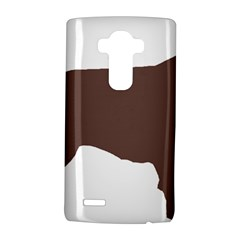 Flat Coated Retriever Silo Color LG G4 Hardshell Case