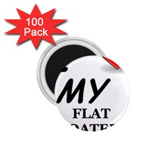 Flat Coated Ret Love 1.75  Magnets (100 pack)