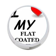 Flat Coated Ret Love 4-Port USB Hub (Two Sides)