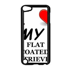 Flat Coated Ret Love Apple iPod Touch 5 Case (Black)