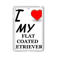 Flat Coated Ret Love iPad Mini 2 Enamel Coated Cases