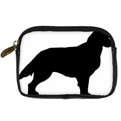 Flat Coated Retriever Silo Digital Camera Cases