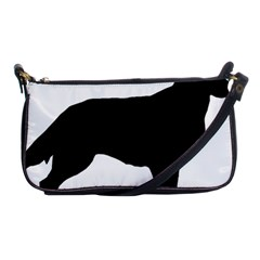 Flat Coated Retriever Silo Shoulder Clutch Bags