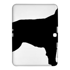 Flat Coated Retriever Silo Samsung Galaxy Tab 4 (10.1 ) Hardshell Case