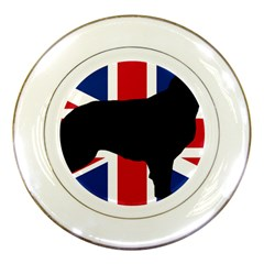 Flat Coated Retriever Silo England United Kingdom Porcelain Plates