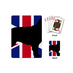 Flat Coated Retriever Silo England United Kingdom Playing Cards (Mini)