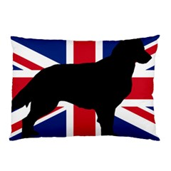 Flat Coated Retriever Silo England United Kingdom Pillow Case (Two Sides)