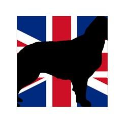 Flat Coated Retriever Silo England United Kingdom Small Satin Scarf (Square)