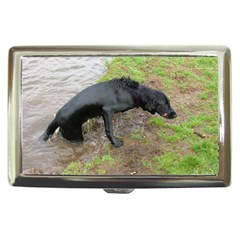 Flat Coated Retriever Wet Cigarette Money Cases