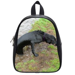 Flat Coated Retriever Wet School Bags (Small)