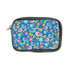 Spring pattern - blue Coin Purse