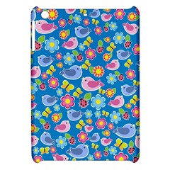Spring pattern - blue Apple iPad Mini Hardshell Case