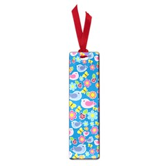 Spring pattern - blue Small Book Marks