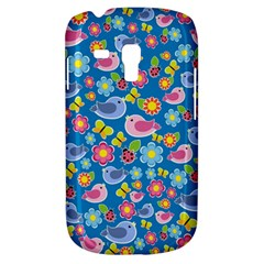 Spring pattern - blue Galaxy S3 Mini