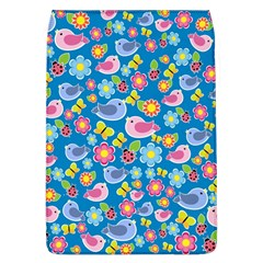 Spring pattern - blue Flap Covers (L)