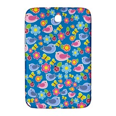 Spring pattern - blue Samsung Galaxy Note 8.0 N5100 Hardshell Case