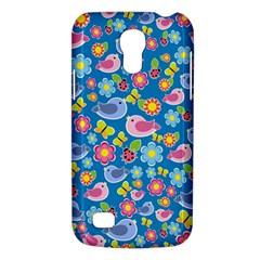Spring pattern - blue Galaxy S4 Mini
