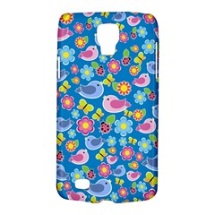 Spring pattern - blue Galaxy S4 Active