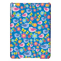 Spring pattern - blue iPad Air Hardshell Cases