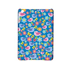 Spring pattern - blue iPad Mini 2 Hardshell Cases