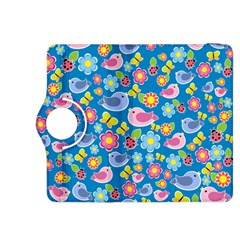 Spring pattern - blue Kindle Fire HDX 8.9  Flip 360 Case