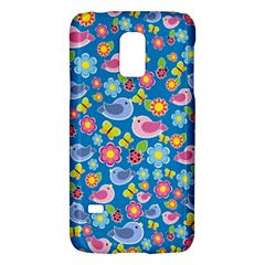 Spring pattern - blue Galaxy S5 Mini