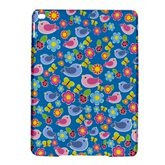 Spring pattern - blue iPad Air 2 Hardshell Cases