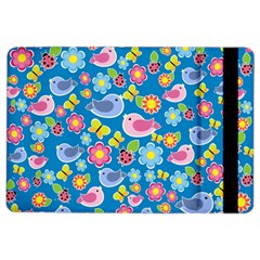 Spring pattern - blue iPad Air 2 Flip