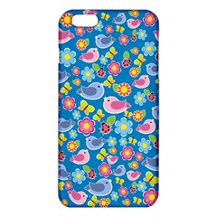 Spring pattern - blue iPhone 6 Plus/6S Plus TPU Case
