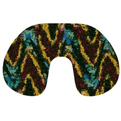 Painted waves                                                         Travel Neck Pillow